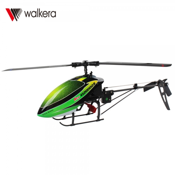 Walkera New V120D02S 6 Channel 2 4GHz 6-Axis Gyro 3D RC Helicopter with  DEVO7 Transmitter RTF Green